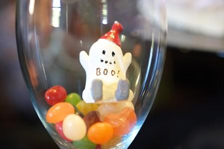 2015.10.25 外交官の家 グラスにお菓子