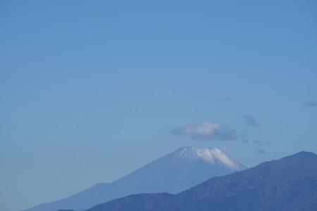 2015.11.04 駅前 富士山