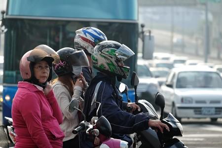 2015.11.09 台中 福華大飯店付近 信号レース