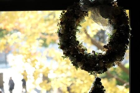 2015.12.16 山手洋館 エリスマン邸 世界のクリスマス 窓辺にリース