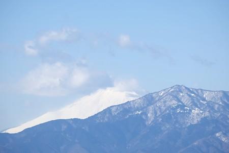 2016.01.19 駅前 富士山