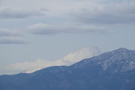 2016.01.21 駅前 富士山