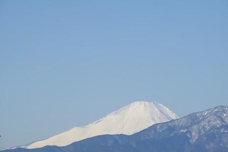 2016.01.25 駅前 富士山