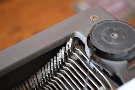 2016.02.04 ベーリック・ホール タイプライター