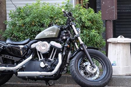 2016.02.04 馬車道 Harley‐Davidson