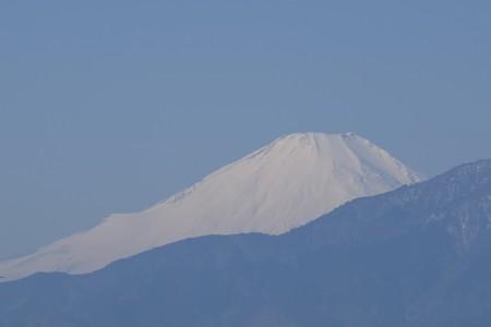 2016.02.11 駅前 富士山