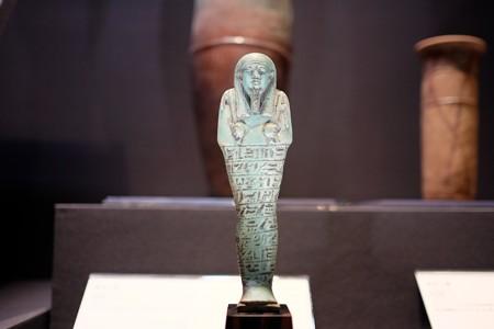 2016.02.17 東京国立博物館 アメン神官のウシャブティ エジプト TJ-5873
