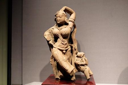 2016.02.17 東京国立博物館 女神及びケンゾク像 インド TC-448