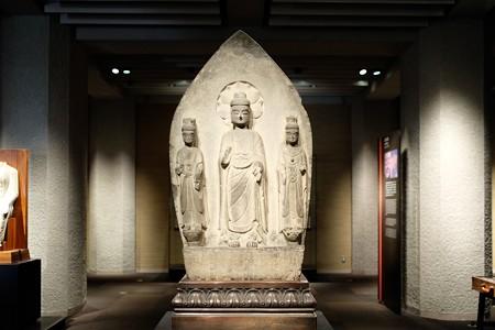 2016.02.17 東京国立博物館 如来三尊立像 中国 TC-646