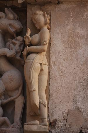 2010.02.01 パールシュバナータ寺院 外壁彫刻-4