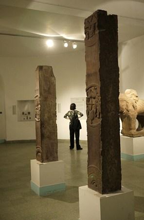 2010.02.05 デリー 国立近代美術館 仏教美術-バールフット