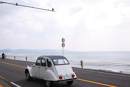 2010.03.19 鎌倉高校前 シトロエン・2CV