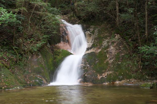 寂地峡 龍尾の滝