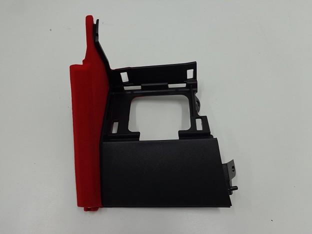 写真: S660 植毛塗装 コンソールアッパーパネル