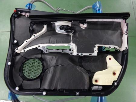 プリウス50系 デッドニング施工 制振・吸音シート