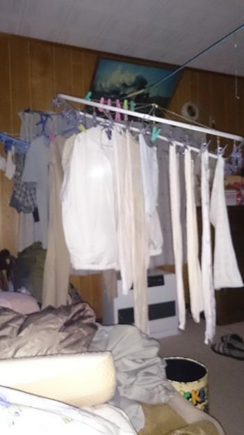 洗濯物部屋干し