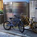 西新宿五丁目駅界隈にて