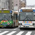 写真: 京成タウンバスT021とK-H241