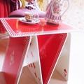 写真: トランプテーブル
