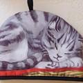 写真: 猫のティーコージー AfternoonTea
