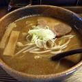 写真: 鰹味噌拉麺@熊人・上田市