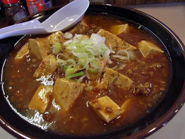 写真: マーボー麺@寸八・松本市