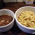 写真: 平打魚醤つけ麺@ひづき・松本市