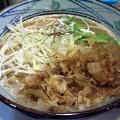 写真: 鶏塩鰹らーめん・肉なし@とり丸・長野市