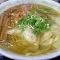 写真: 塩ワンタンメン@一麺・つくば市