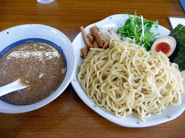 濃厚魚介つけ麺・中盛@MARU・牛久市