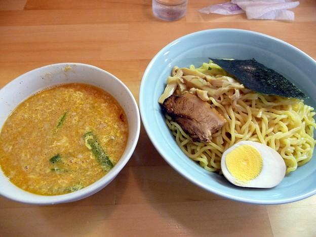 濃口味噌つけ麺・大盛@大葉・土浦市