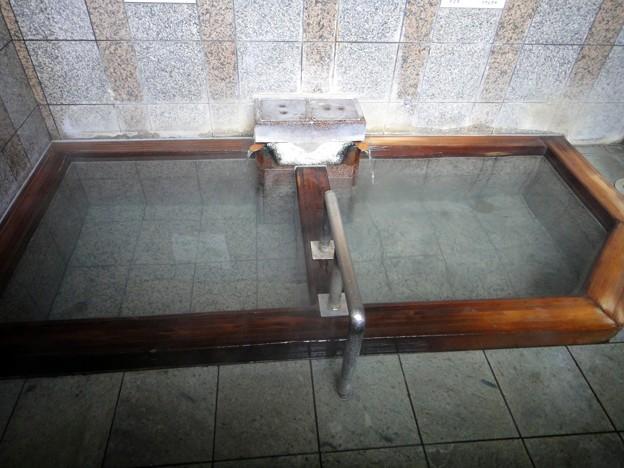 四万温泉 共同浴場上之湯@群馬県中之条町