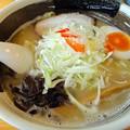 Photos: 鶏白湯・塩・中太麺+ネギ@じゅん・伊勢崎市
