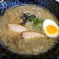 煮干爺さん・細ストレート麺+背脂@Coi.Coi.・伊勢崎市