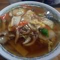 広東麺@醤油亭・福島市