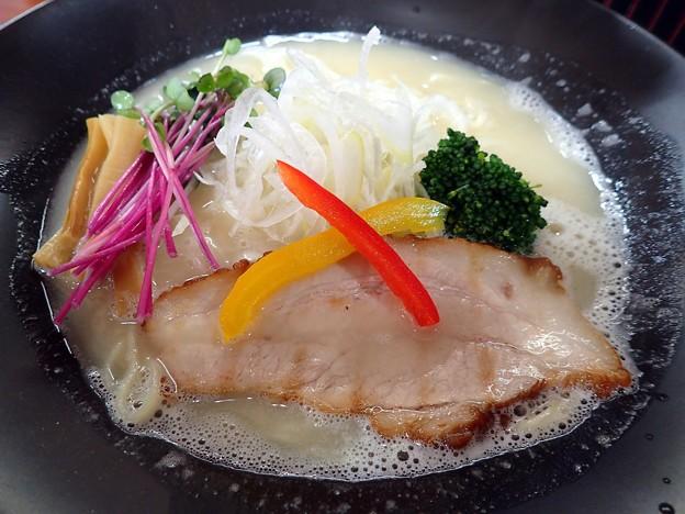 鶏白湯ラーメン@武蔵・福島市