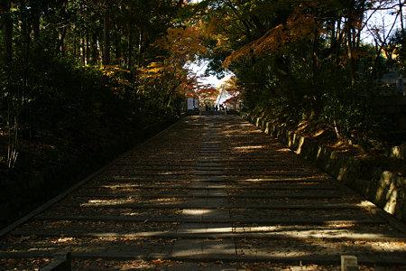 光明寺の石段!(091130)
