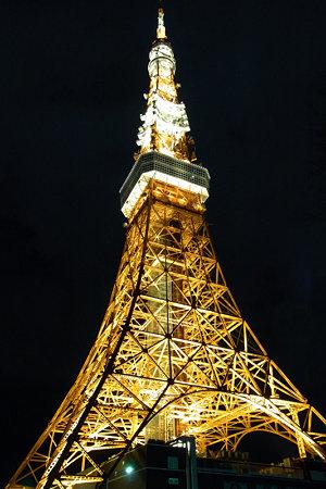 東京タワーライトアップ2010年b