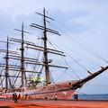 世界最大級の帆船「海王丸」
