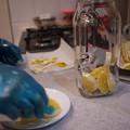 写真: レモン酒作り2