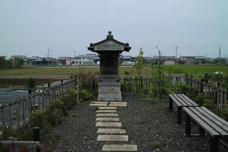 大谷吉継の首塚 (1)