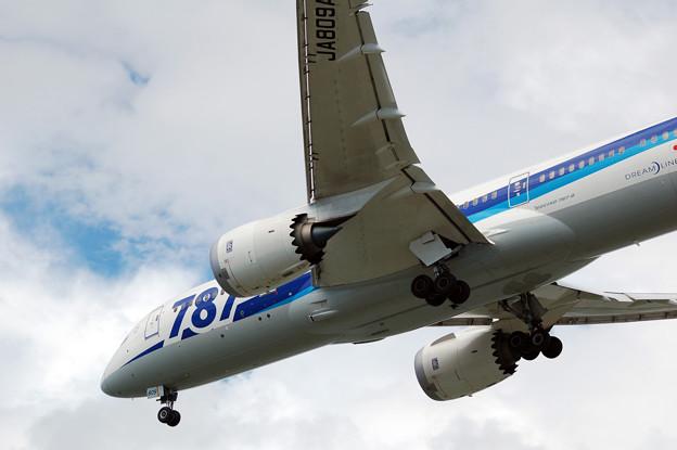 飛行機 ANA 787 Dream Liner