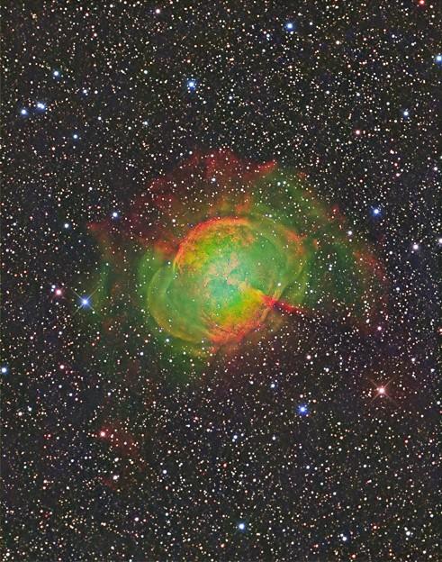 惑星状星雲M27