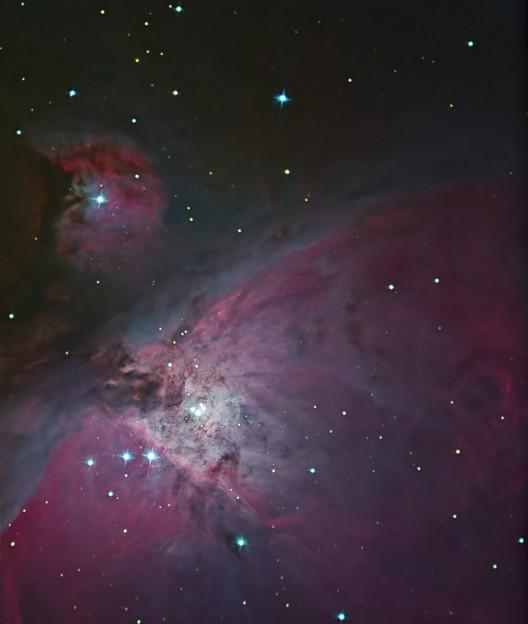 オリオン座大星雲中心部