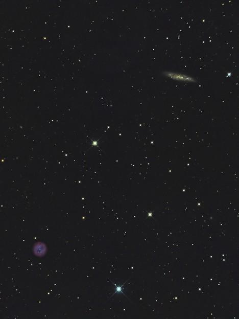 Photos: ふくろう星雲とM108