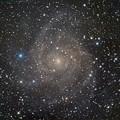 写真: きりん座の小宇宙 IC342