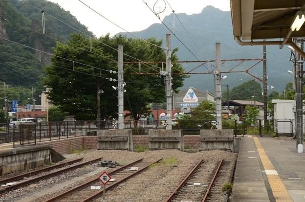 信越本線横川駅・・・線路は続かず