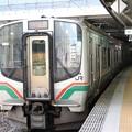 E721系P-31編成仙山線3837M快速山形行き仙台8番