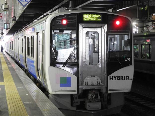 Photos: HB-E210系C-1 編成 仙石東北ライン 仙台1番にて