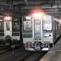 Photos: 701系並んで仙台発車待ち 東北本線455M福島行きと常磐線246M浜吉田行き